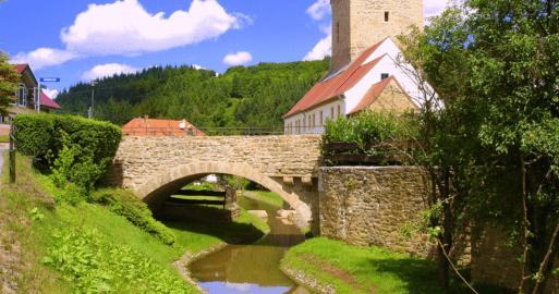 Wasserburg und Malschule